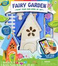 Woa Fairy Garden Wood Paint Kit
