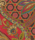 Waverly Upholstery Fabric 54\u0027\u0027-Lacquer Moonlit Shadows