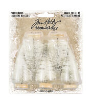 "Idea-Ology Woodland Tree Lot Trees 5/Pkg-Natural 2.5"", , hi-res"