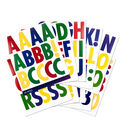 Sticko Futura Regular X-Large Alphabet Stickers-Primary