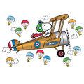 Eureka Peanuts Giant Flying Ace Snoopy Bulletin Board Set, 2 Sets