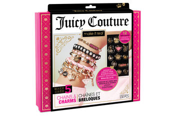 Make It Real Juicy Couture-Gold Bold Chain Bracelet Kit