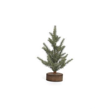 Handmade Holiday Medium Christmas Tree with Wooden Base