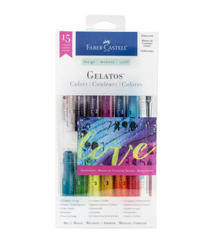 Design Memory Craft Gelatos Colors Kit-Iridescents