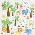 York Wallcoverings Wall Decals-Jungle Friends