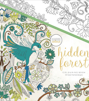 Hid Forest-kaiser Coloring Book