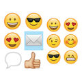 Creative Teaching Press Emojis 3\u0022 and 6\u0022, 72 Per Set, 3 Sets