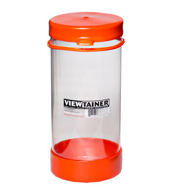 Viewtainer 3.63''x8'' Tethered Cap Storage Container