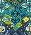 Waverly Lightweight Decor Fabric Swatch 13\u0027\u0027x13\u0027\u0027-Ute Mountain Cove