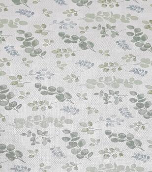 Harvest Cotton Fabric-Eucalyptus Leaves Tossed