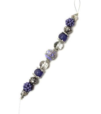 "Jesse James 7"" Strung Beads-Celtic Boho & Glass Beads"