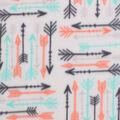 Blizzard Fleece Fabric -Breeze Arrows