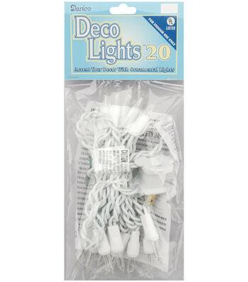 Darice 20ct 8' Deco Lights