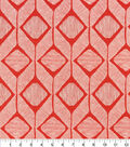 Home Essentials Lightweight Decor Fabric 45\u0027\u0027-Scarlet Matro