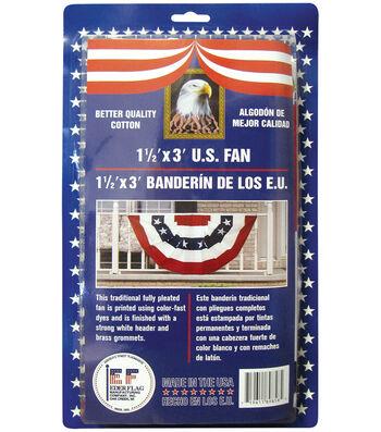 US Bunting Flag 18''x36''