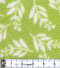 Anti-Pill Fleece Fabric 59\u0022-Summer Floral Chartreuse