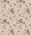 Waverly Multi-Purpose Decor Fabric 54\u0022-Fairhaven Rose