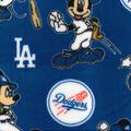 Los Angeles Dodgers Fleece Fabric-Mickey