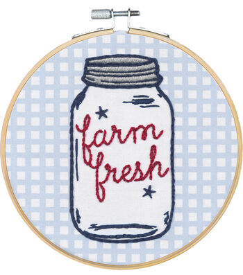 Americana Stitch Kit-Farm Fresh