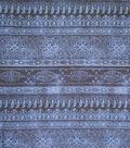Sportswear Denim Stretch Fabric 57\u0022-Blue Etched Stripe