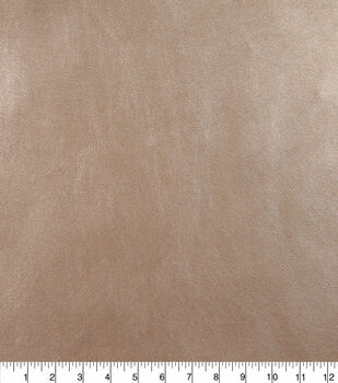 Faux Leather Fabric-Rose Gold