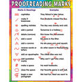 Teacher Created Resources Proofreading Marks Chart 6pk