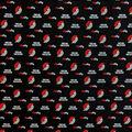 Portland Trailblazers Cotton Fabric-Allover