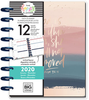 The Happy Planner Classic 2020 Dated Planner-Psalms
