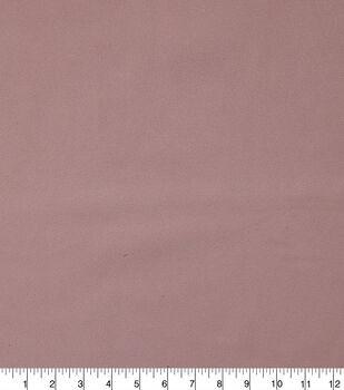 Faux Suede Stretch Fabric-Lotus Pink