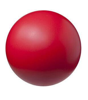 Champion Sports 8.5'' High Density Coated Foam Ball-Red