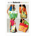 Butterick Crafts Totes & Bags-B5799