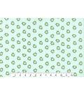 Novelty Cotton Fabric 43\u0027\u0027-Mini Frogs on Polka Dots