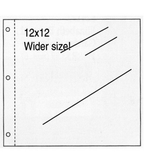 EK Success K/&Company Page Protector Refills 12x12 inch 25//Pkg 1-Pack 30705388 Bundled with Artsiga Crafts Small Project Bag