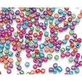 Glass Seed E Beads-Metallic Color Mix