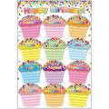 Smart Poly Chart 13\u0022x19\u0022 Confetti Happy Birthday 10pk