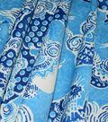 Williamsburg Outdoor Fabric-Dunmore Dragons Cobalt