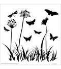 The Crafters Workshop 12\u0022x12\u0022 Template-Butterfly Meadow