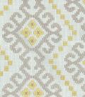 8\u0022x8\u0022 Swatch-Waverly Kurta Embroidery/Chai
