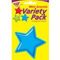 Gumdrop Stars Mini Accents Variety Pack, 36 Per Pack, 6 Packs