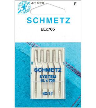 Schmetz Universal Serger Needles 5/Pk-Size 12/80