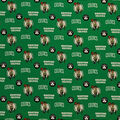 Boston Celtics Cotton Fabric-Allover