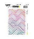 Carabelle Studio Art Alexi A6 Cling Stamp-Background: Mish Mash