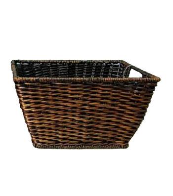 Organizing Essentials Woven Rectangle Fern Basket