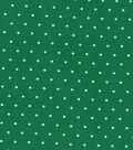 Keepsake Calico Cotton Fabric-Simple Dots on Green
