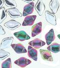 Beadsmith GemDuo`s Czech Glass Beads-Backlit