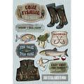 Wishin\u0027 I -fishing Cs Stickers