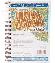 "Strathmore Visual Journal Watercolor 5.5""X8""-22 Sheets, , hi-res"