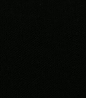 Stretch Linen Rayon Fabric-Black