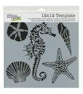 Crafter\u0027s Workshop Template 12\u0022X12\u0022-Sea Creatures