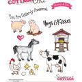 CottageCutz Stamp & Die Set-Farm Animals